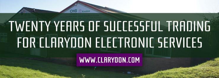20 years Clarydon success