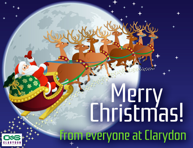 Merry Christmas! from everyone at Clarydon Electronic Services